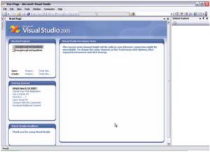 Gambar 2. Tampilan Start Page